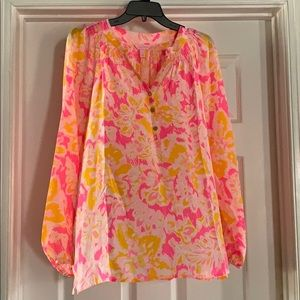 Lilly Pulitzer Elsa blouse